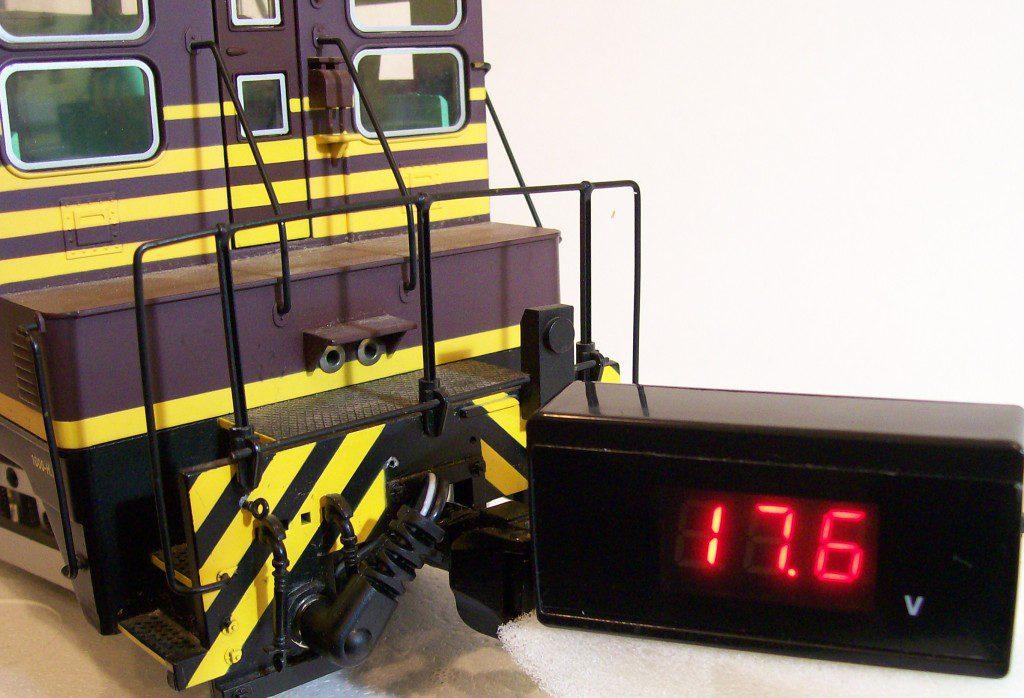 RCS of NE LED Battery Status Meter