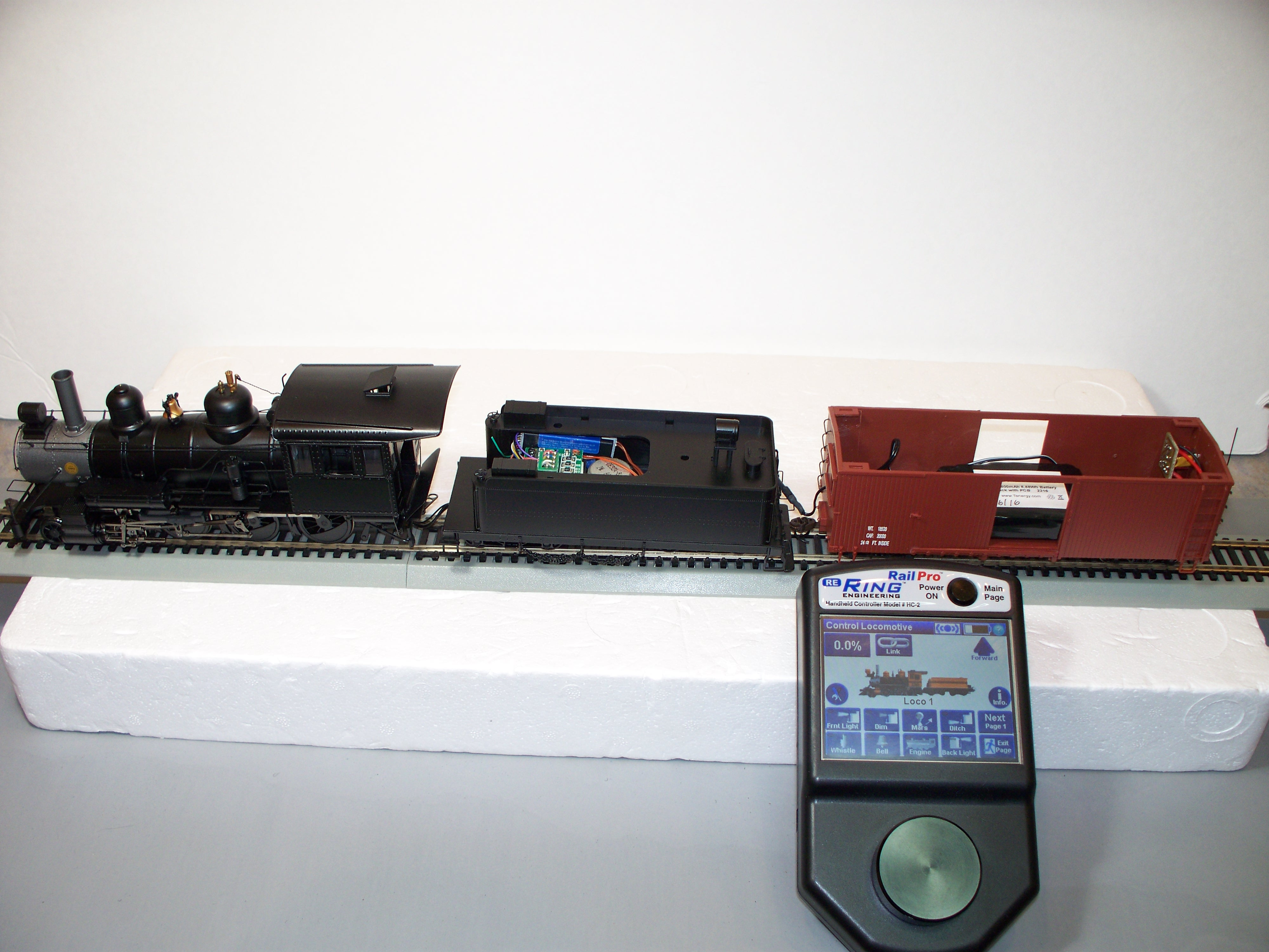 RING ENGINEERING - RailPro Wireless Train Control w/Sound ...