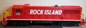 Aristo Craft U25B Rock Island 238