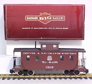 93818 D&RGW Center Cupola Caboose